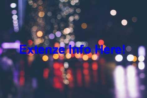 Extenze Yahoo